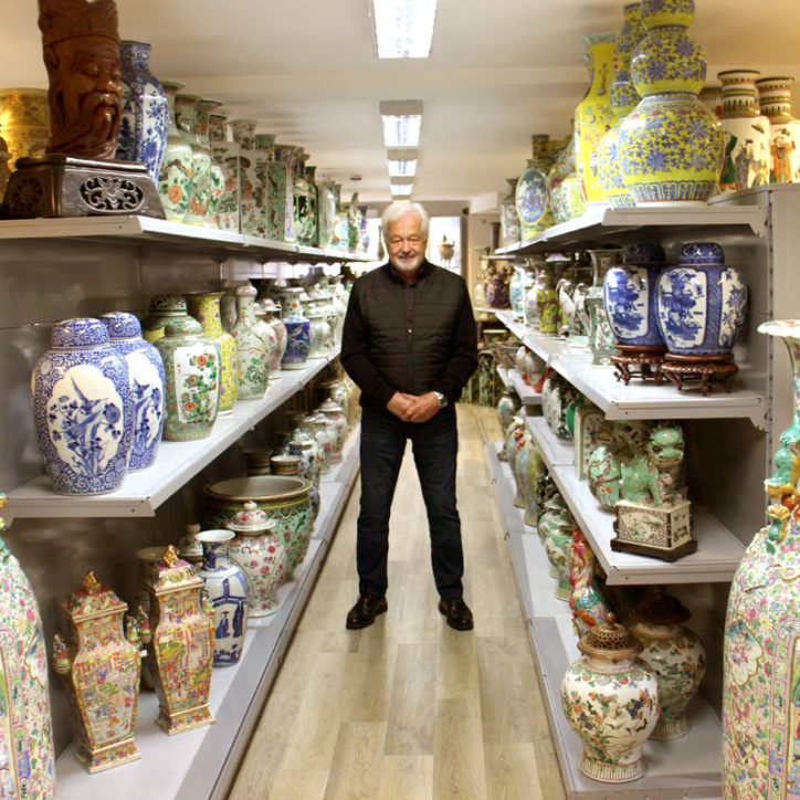 Kevin Page, founder of Kevin Page Oriental Art